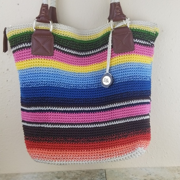 The Sak Handbags - The Sak crochet multi color purse